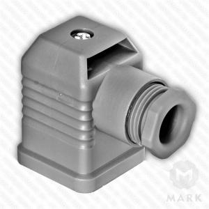 "Штекер для клапана арт.210318 3-х контактный ""серый"" фирмы DUNGS"