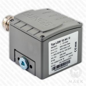 LGW 10 A4/2 M IP65 арт.232046 дифференциальное реле давления DUNGS