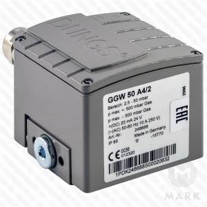 Дифференциальное реле давления GGW 50 A4/2 IP65M DUNGS цена, купить