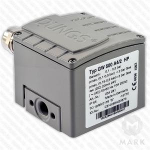 Датчик реле давления GW 2000 A4/2 HP IP65 DUNGS цена, купить