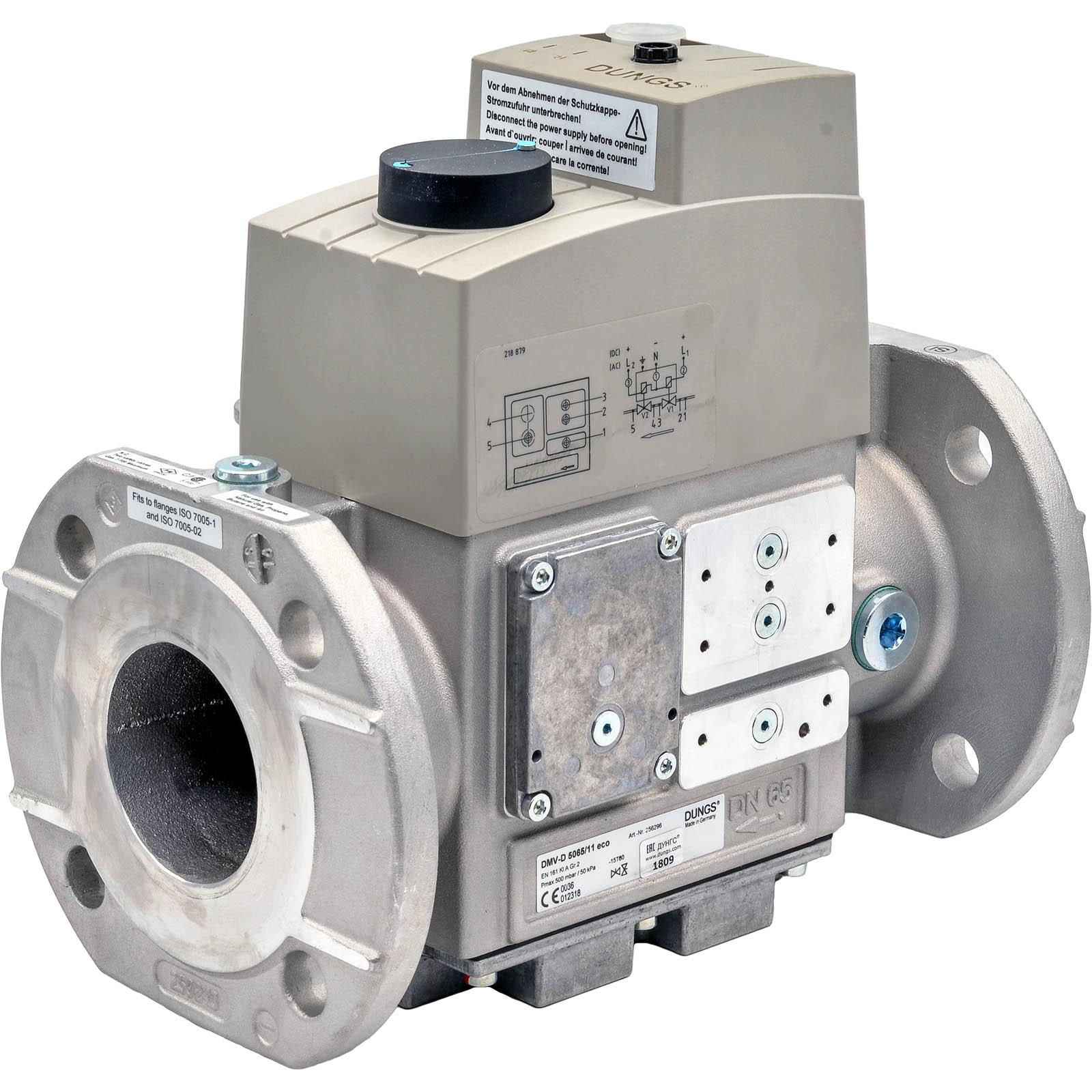 Двойной электромагнитный клапан DMV-DLE5125/11 eco DUNGS цена, купить