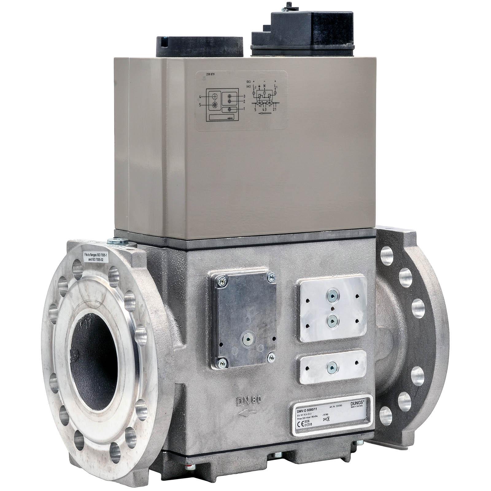 Двойной электромагнитный клапан DMV-DLE 5100/12 DUNGS цена, купить