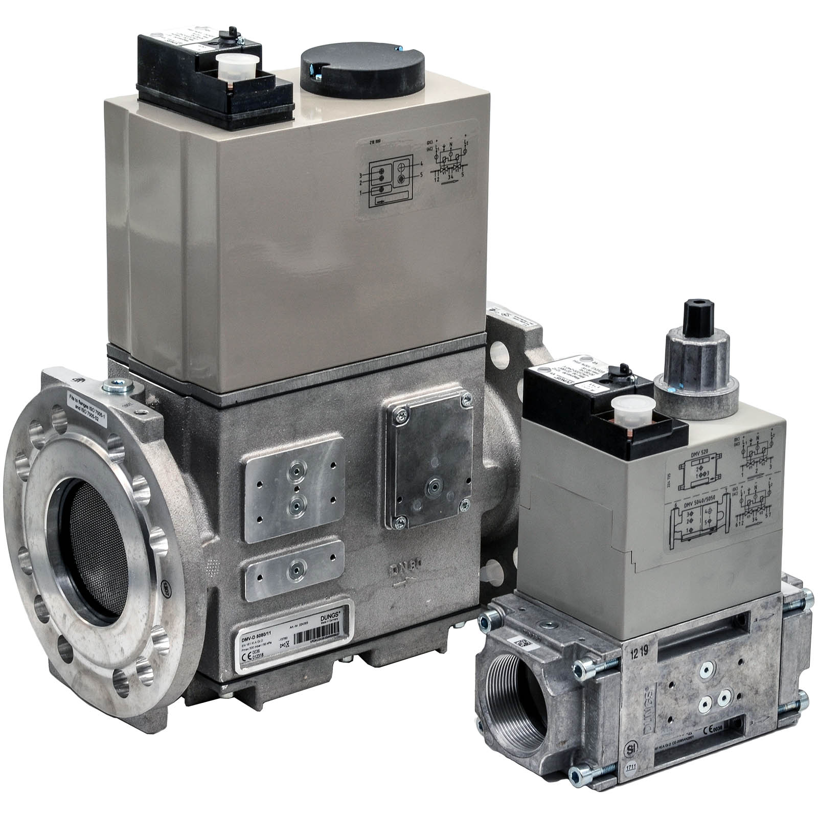 Двойной электромагнитный клапан DMV-D 5125/11 DUNGS цена, купить