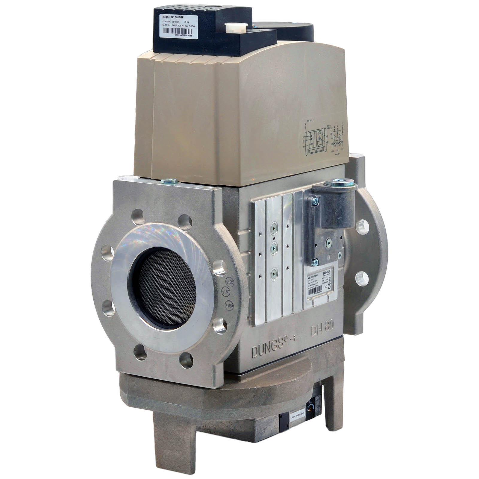 Двойной электромагнитный клапан DMV-SE 520/11 S80 DUNGS цена, купить