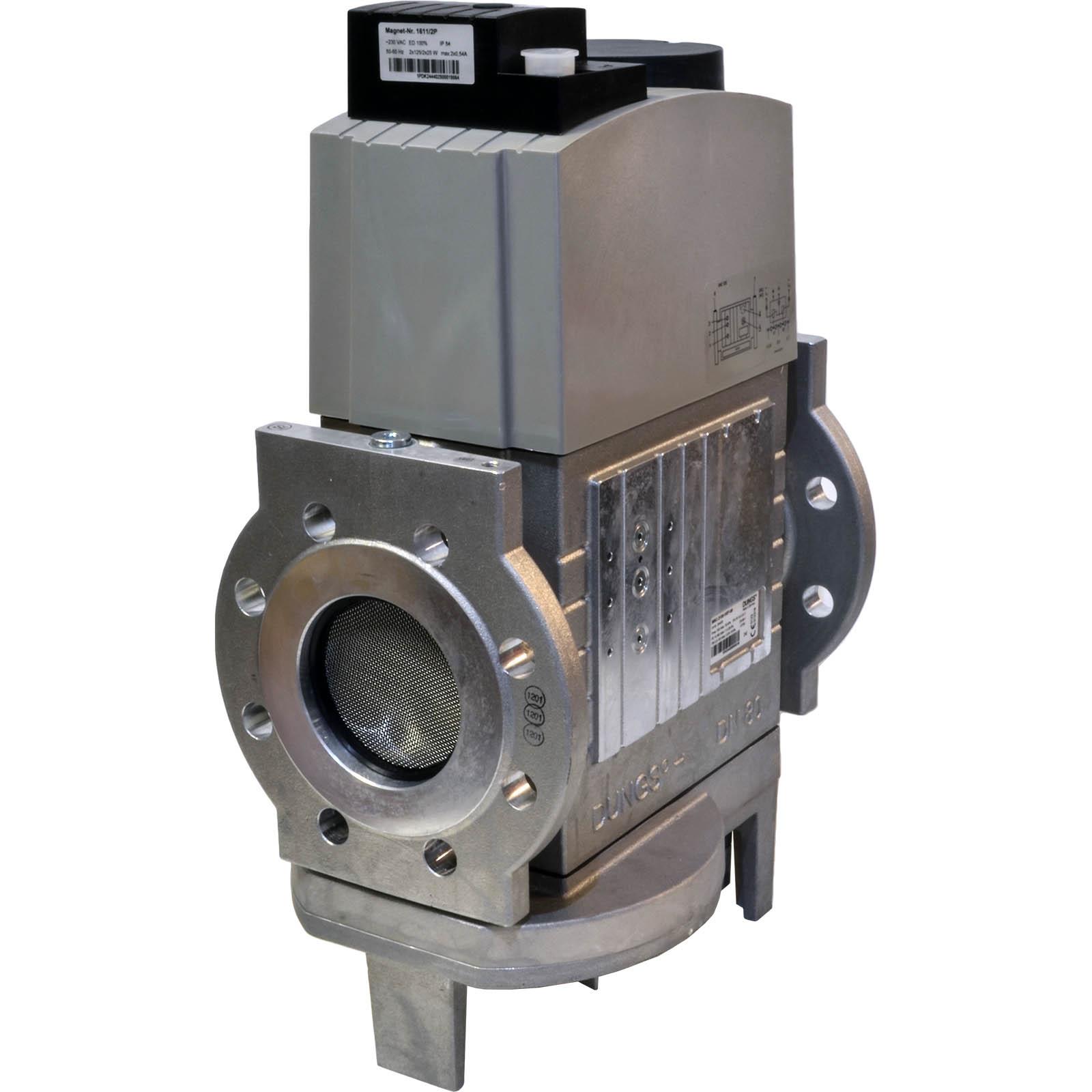 Двойной электромагнитный клапан DMV-VEF 5065/11 S12 DUNGS цена, купить