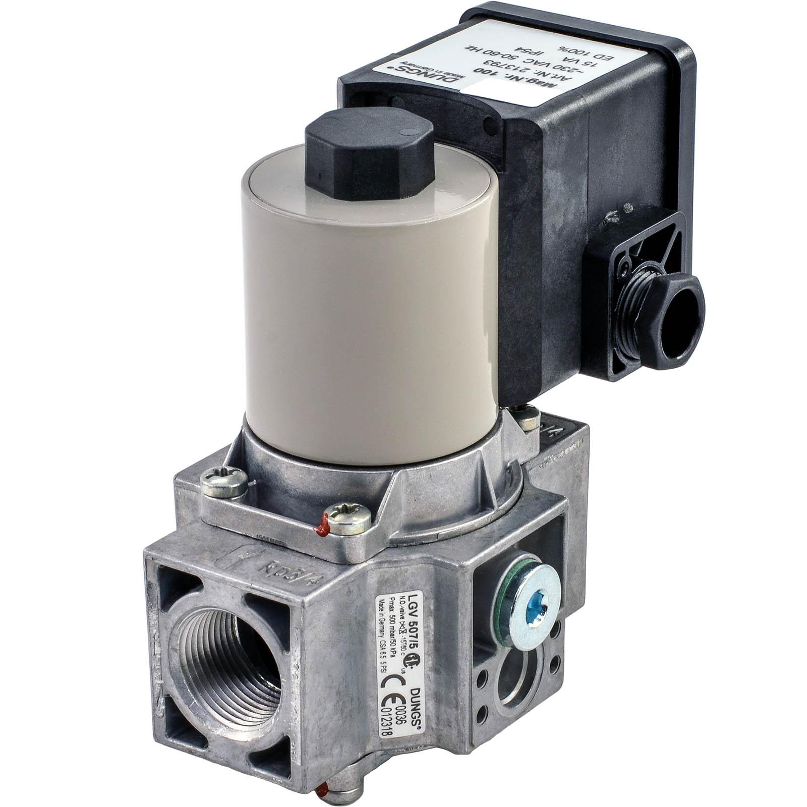 Электромагнитный клапан LGV 507/5 DUNGS цена, купить