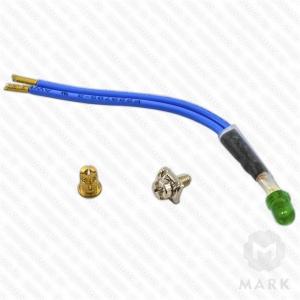 арт.248239 Набор для монтажа ламп (зеленая) 230V