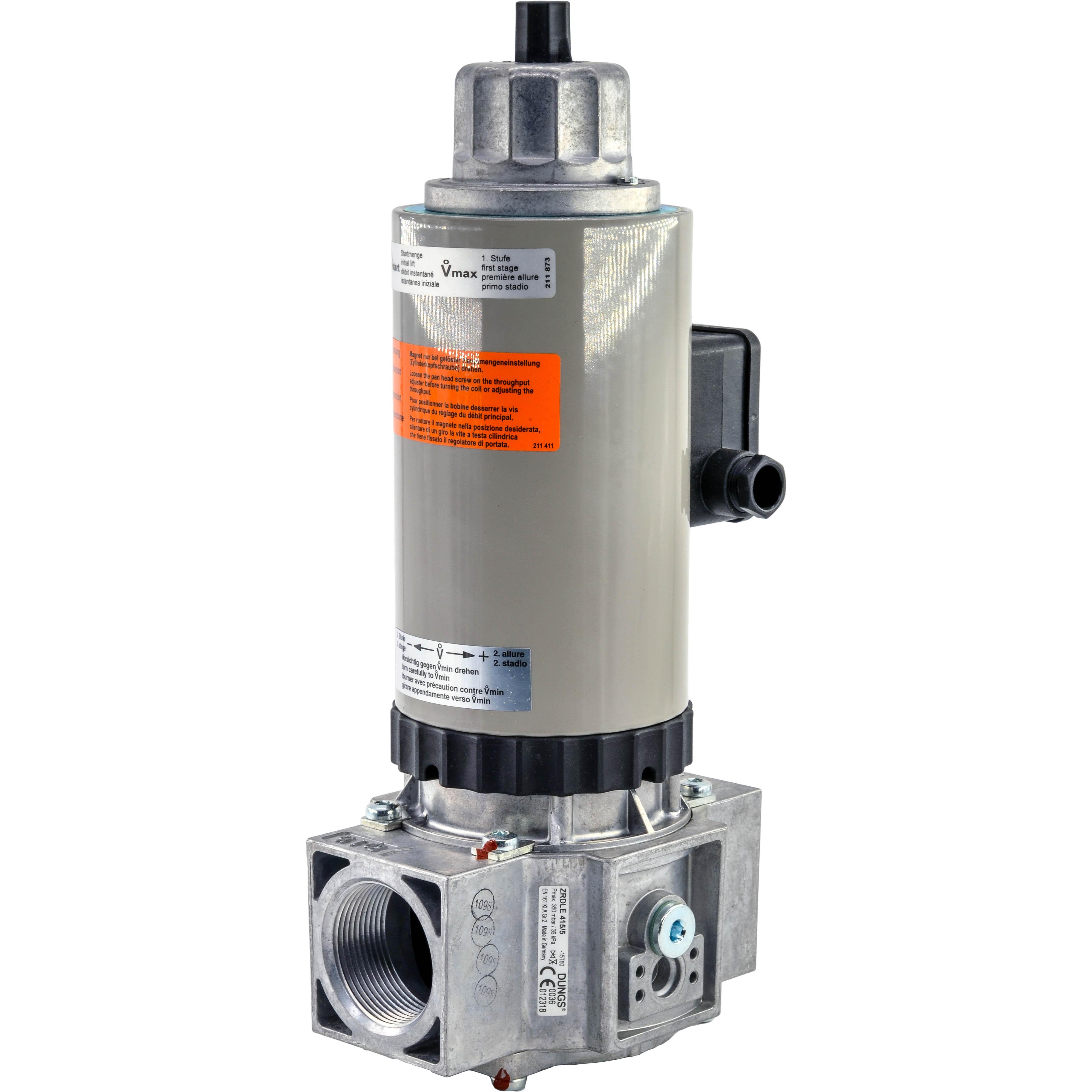 Электромагнитный клапан ZRLE 415/5 DUNGS цена, купить